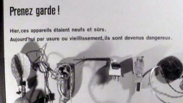 Les appareils doivent répondre à certaines normes de sécurité.
