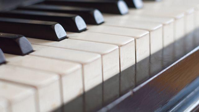 Clavier du piano. [litts  - Fotolia]