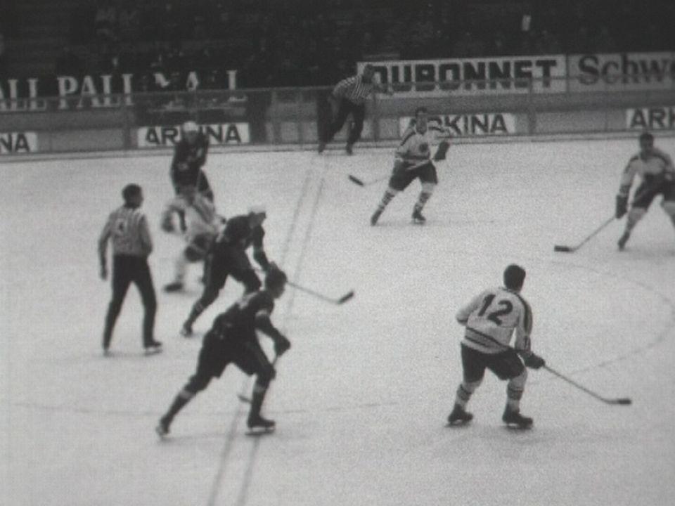 Le Genève Servette HC accède à la LNA en 1964. [RTS]