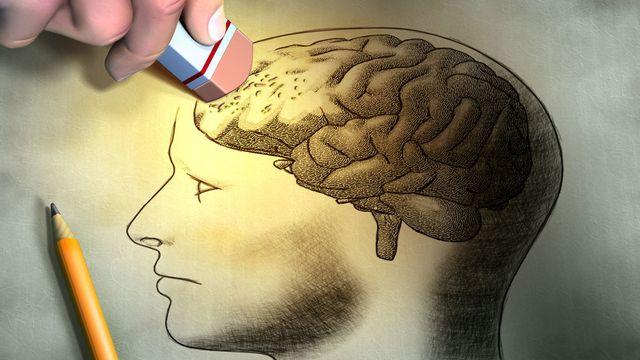 Les trous de mémoire, ou quand des souvenirs semblent gommés de notre cerveau. [Andrea Danti - Fotolia]