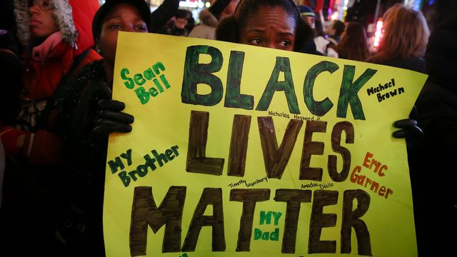 Regain des tensions raciales aux Etats-Unis. [John Minchillo - AP Photo/Keystone]