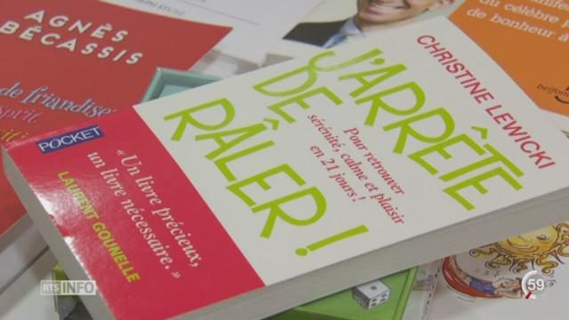 Les livres de développement personnel ont la cote [RTS]