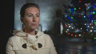 Le mag: portrait de Julie Le Bris, la seule femme coach d'une équipe de Basketball masculine en Suisse (BBC Nyon) [RTS]