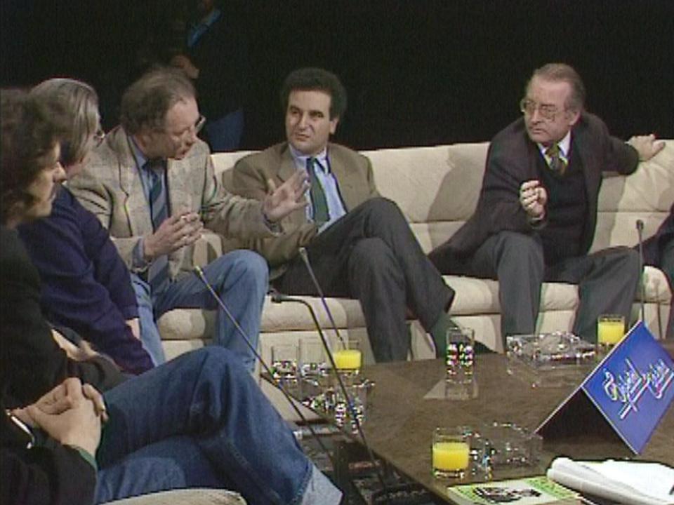 Débat entre critiques de cinéma sur le plateau de Spécial Cinéma en 1987. [RTS]