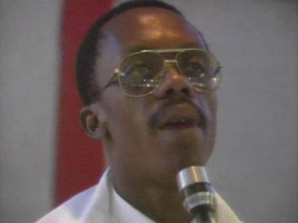 Jean-Bertrand Aristide, emblème d'une nouvelle politique en Haïti. [RTS]