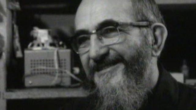 L'abbé Pierre en 1973. [RTS]
