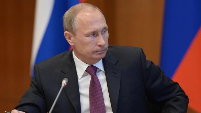 Le Kremlin considère que les propos de Vladimir Poutine sur la possibilité de prendre Kiev ont été sortis de leur contexte. [Alexei Nikolsky - RIA Novosti/AP/Keystone]