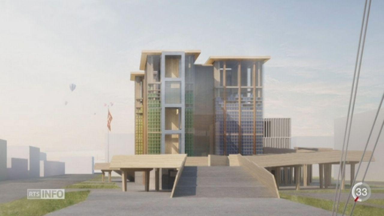 Expo universelle 2015: le pavillon suisse a été modifié [RTS]