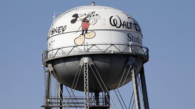 Le réservoir d'eau des studios Walt Disney, à Burbank, en Californie. [Mario Anzuoni - Reuters]