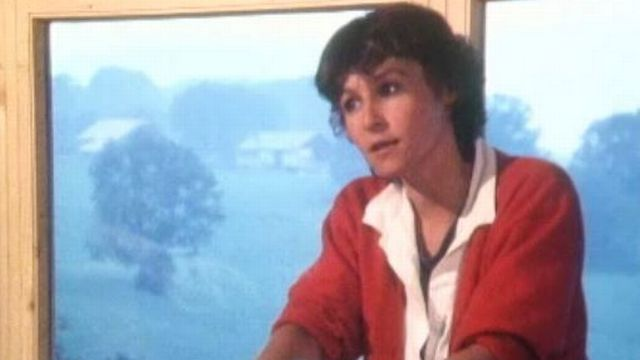 La metteuse en scène Gisèle Sallin en 1986. [RTS]