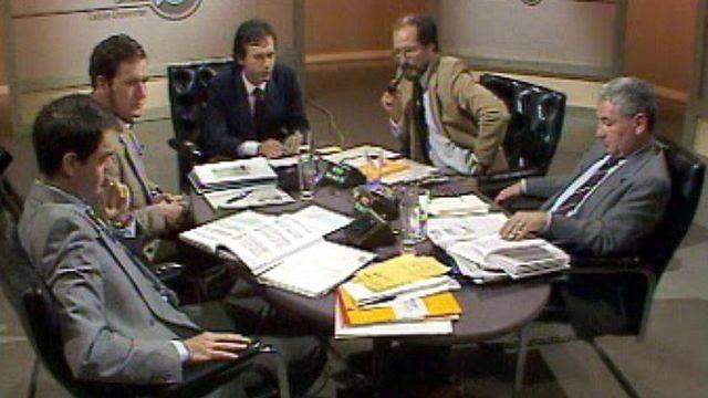 L'énergie nucléaire fait débat à Table ouverte après Tchernobyl. [RTS]