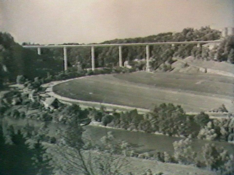 Projet du pont de la Poya. [RTS]