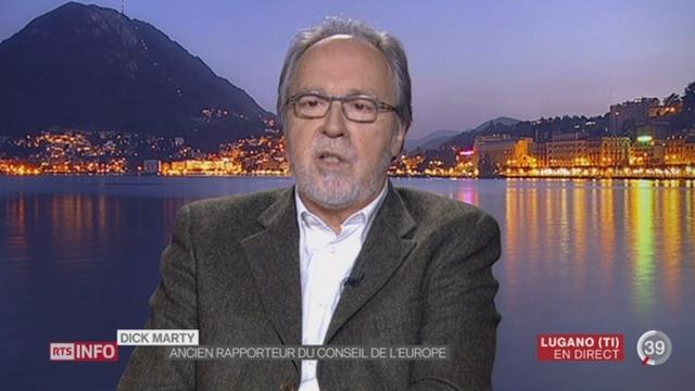 Rapport du Sénat dénonçant les tortures infligées par la CIA: l'analyse de Dick Marty, ancien rapporteur du Conseil de l'Europe [RTS]