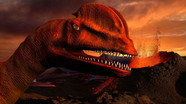 Le volcanisme serait pour quelque chose dans la disparition des dinosaures. Andrew Adams Fotolia [Andrew Adams - Fotolia]