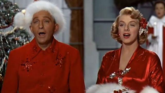 "Une image du clip ""White Christmas"" de Bing Crosby. [YouTube]"