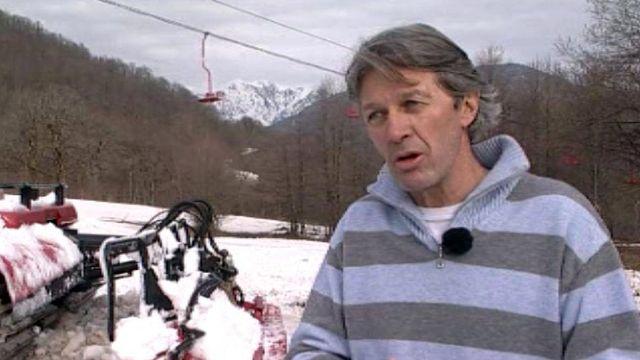 Bernard Russie soutient la candidature de Sotchi pour 2014.