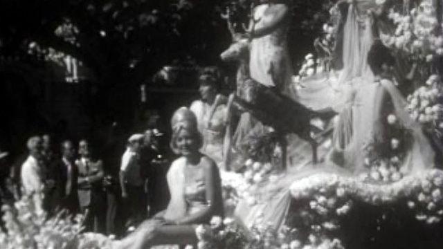 Corso fleuri et feu d'artifice pour les fêtes de Genève.
