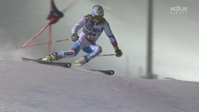 Géant messieurs, 2ème manche: Gino Caviezel prend la seconde place provisoire [RTS]