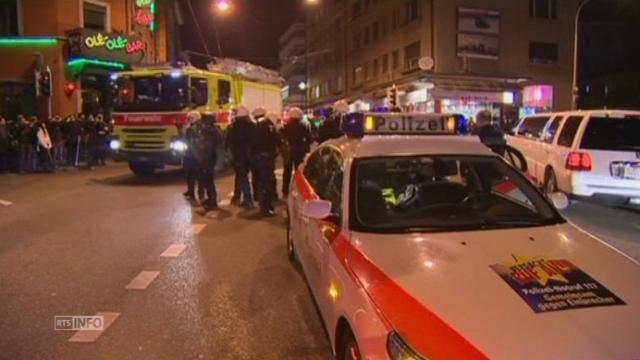 Flambée de violence à Zurich [RTS]