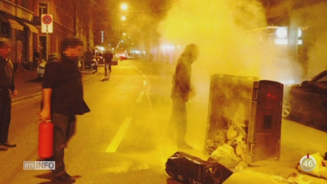 Près de 200 casseurs ont saccagé le centre-ville de Zurich [RTS]