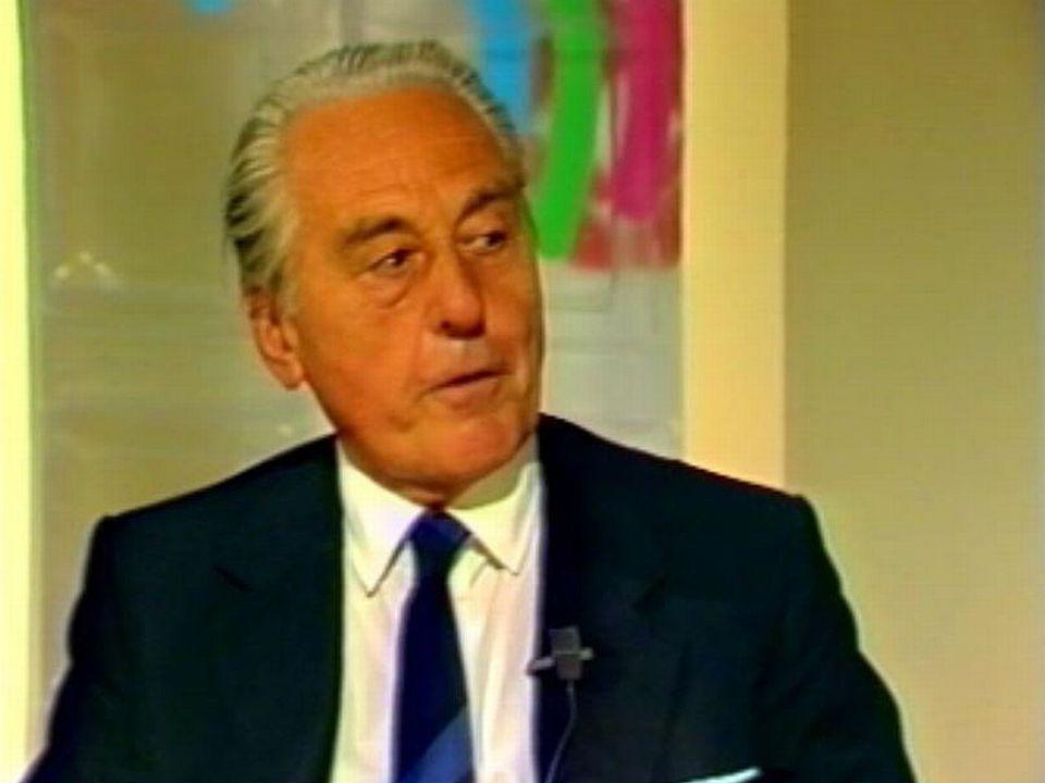 Président du Comptoir, il est un des hommes-clés du canton de Vaud. [RTS]