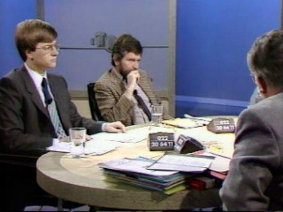En 1985, la société apparaît trop permissive pour les jeunes. [RTS]