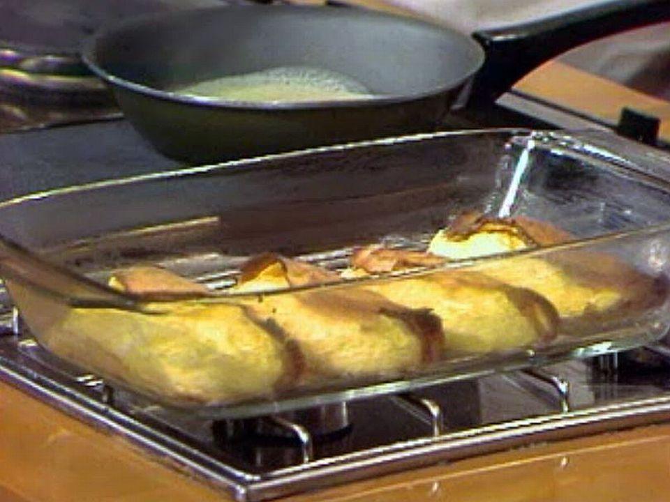 Un dessert qui plaît à tous: les crêpes soufflées aux ananas.