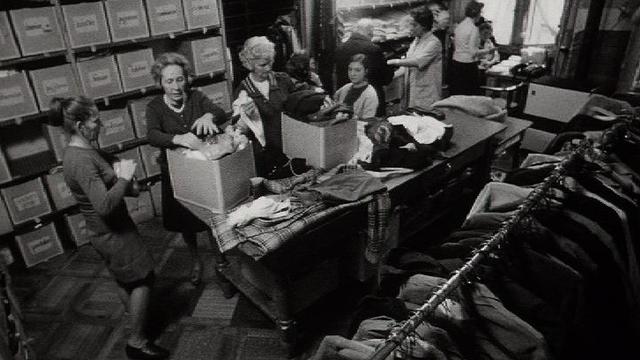 Les bénévoles du Centre Social Protestant (CSP) en 1973. [RTS]