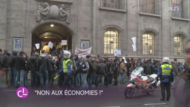 GE: la fonction publique était en grève et a manifesté dans les rues [RTS]