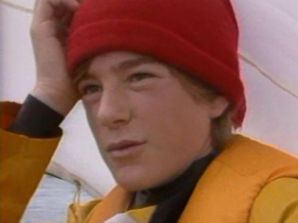 Le jeune vainqueur d'un criterium d'optimistes en 1984. [RTS]