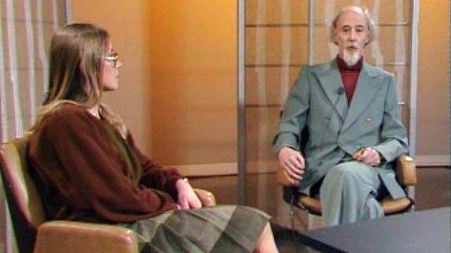 Rencontre avec le président du mouvement anti-apartheid de Suisse. [RTS]