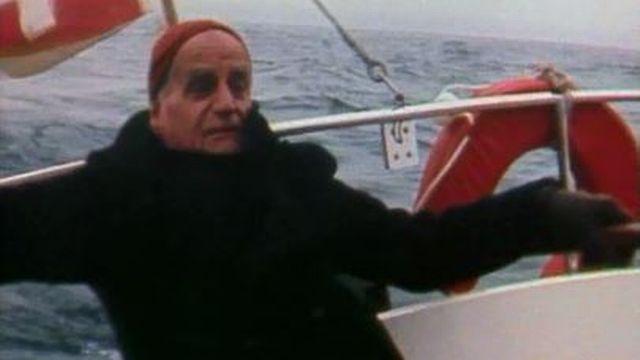 A la découverte des vents du Léman avec l'écrivain André Guex. [RTS]