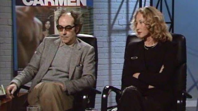 Jean-Luc Godard et Anne-Marie Miéville, une complicité créatrice. [RTS]