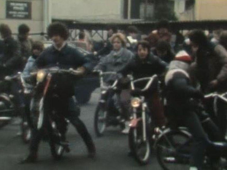 La mode des boguets dans les années 1980. [RTS]