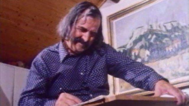 Borgeaud a toujours dû se battre pour réussir dans la peinture. [RTS]