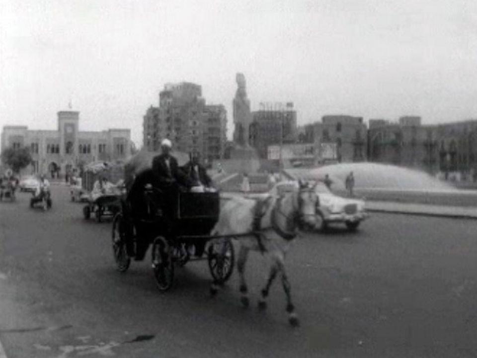 La ville du Caire en 1966. [RTS]