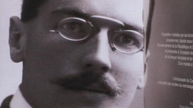 Photo d'Auguste Viatte dans les années 30. [RTS]