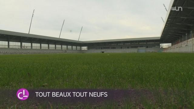 Les travaux du complexe sportif des stades de Bienne arrivent à leur terme [RTS]