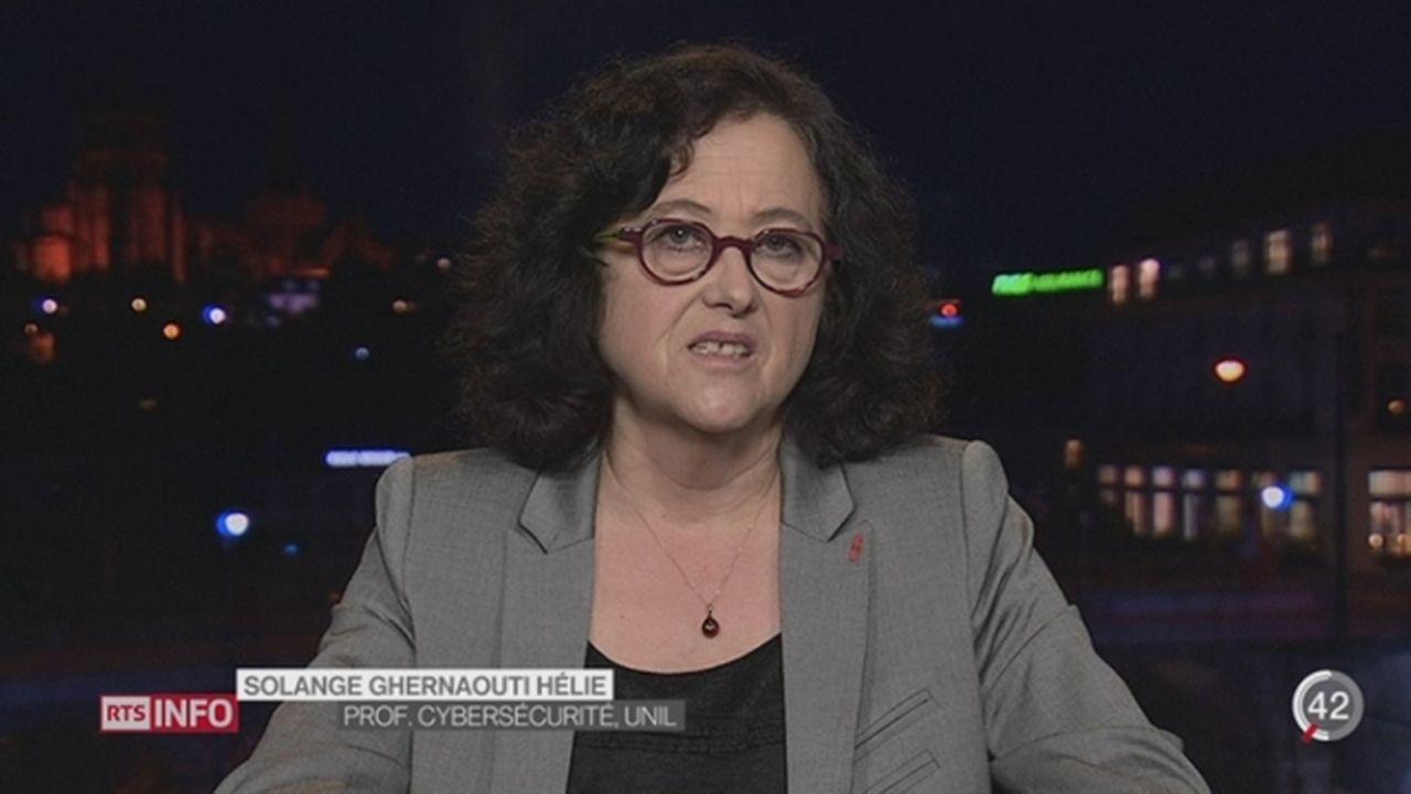 Piratage informatique Sony: les explications de Solange Ghernaouti, prof. cybersecurité, UNIL [RTS]