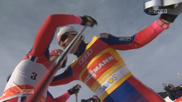 Sprint finale dames: victoire de Marit Bjoergen (NOR). Laurien van der Graaff (SUI) termine 6e [RTS]