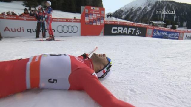 Sprint finale messieurs: Federico Pellegrino (ITA) s'impose devant Petukhov (RUS) et Krogh (NOR) [RTS]