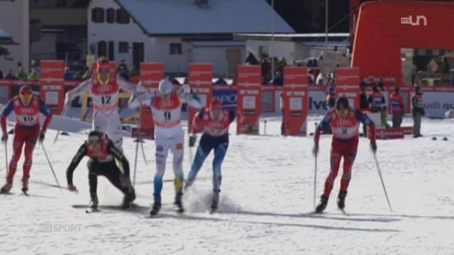 Ski de fond: Marit Björgen a une fois de plus démontré sa supériorité [RTS]