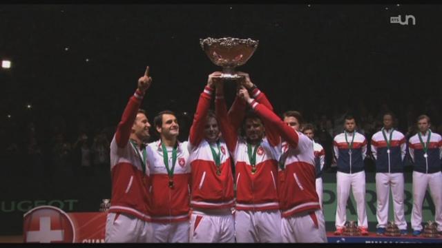 Tennis - Coupe Davis: la victoire de la Suisse a marqué tous les esprits [RTS]