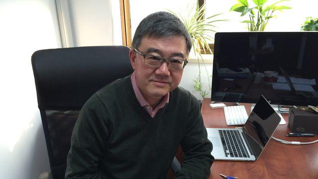 Wang Feng, sociologue et professeur à l'université de Shanghai (Fudan) et de Californie (Irvine). [DONG Cao - RTS]