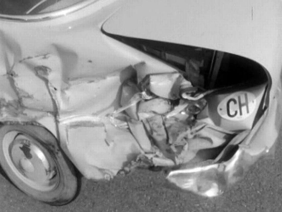 La vitesse, une cause d'accidents en chaîne sur l'autoroute.