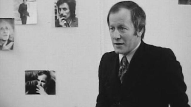 Jacques Chancel en 1973. [RTS]