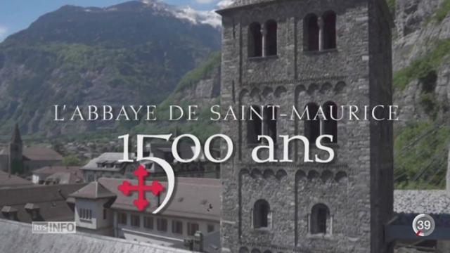 L'Abbaye de St Maurice célèbre 1500 ans [RTS]