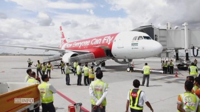 Le mystère plane toujours sur le sort de l'avion d'AirAsia et de ses 162 passagers [RTS]