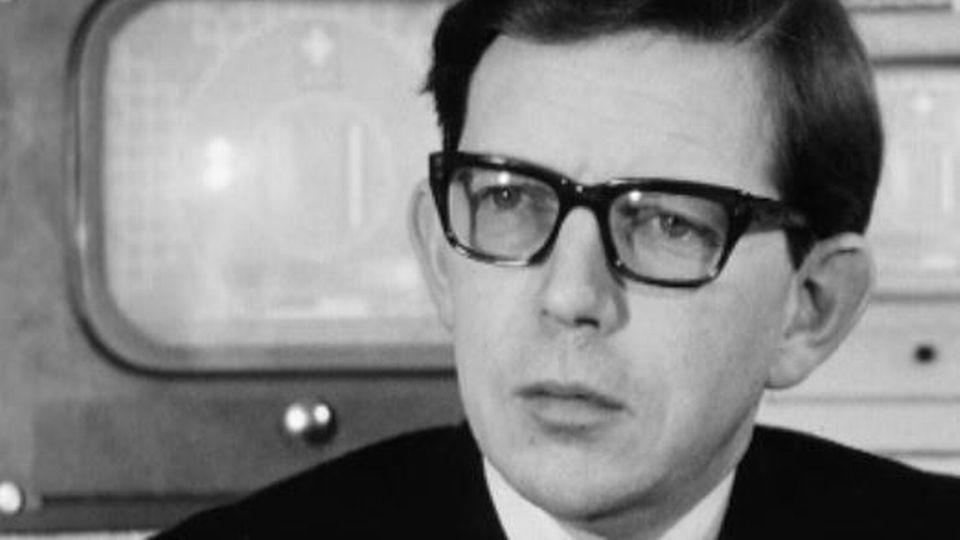 René Schenker en 1967. [RTS]