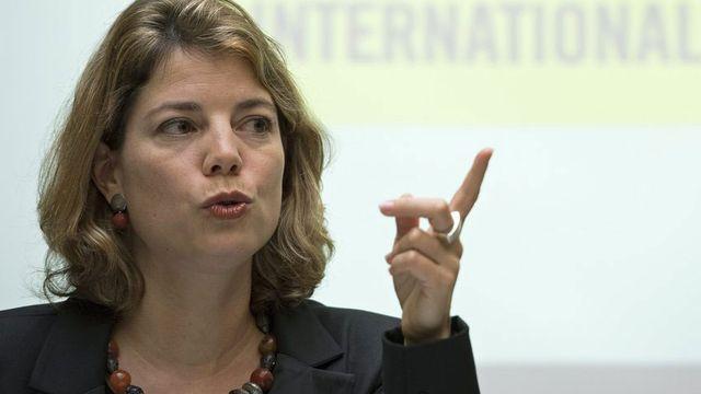Manon Schick, directrice d'Amnesty Internatinal Suisse. [Peter Schneider - Keystone]